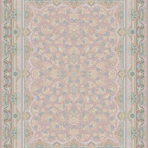 G127 (Pink and Lavender) - Persian Rugs Wembley - Wembley Rugs