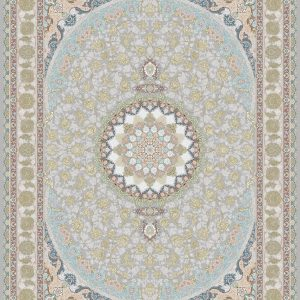 G129 (Center and Border: White background) - Persian Rugs Wembley - Wembley Rugs