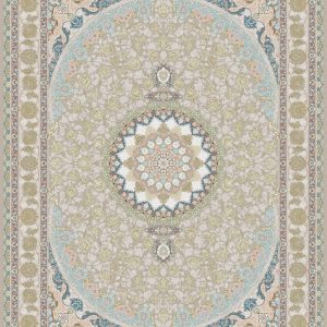 G129 (Center and Border: Pink background) - Persian Rugs Wembley - Wembley Rugs