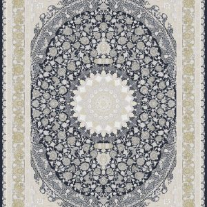 G142 (Dark Blue Center) - Persian Rugs Wembley - Wembley Rugs